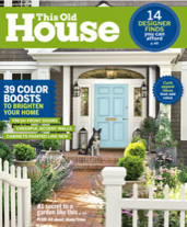 "This Old House Magazine, March 2015: ""From All White to All Wow"""